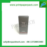 Venta al por mayor de encargo de empaquetado cosmética de sellado caliente del rectángulo del lápiz labial de la insignia de la alta calidad