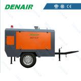 compresor de aire móvil diesel de 7bar 185cfm para la venta
