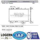 Mazda 323/Protege'90-94 Mt/PA26 Dpi를 위한 Ma 014 2 알루미늄 방열기: 1134년
