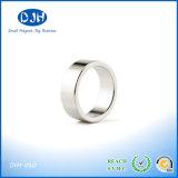 Ímã de anel aglomerado do tamanho material magnético permanente pequeno por atacado