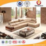 Sofà di cuoio puro di più nuovo disegno per il sofà promozionale del salone (UL-R822)