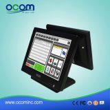 "15 "" DoppelScreen Touch Screen Monitor LCD Display All in Ein-PC-Stellung Terminal"