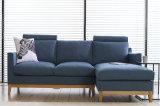 現代居間の家具1+2+3ファブリックソファー