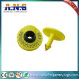 Tag de orelha animais de 125kHz RFID sem contato para o seguimento da identificação