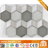 Hexagon-und Diamant-Form-amerikanische Art-Glasmosaik (M855163)