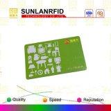 Cartão clássico esperto sem contato do cartão M1 S50 do Mf 1k RFID do baixo custo/cartão esperto de Ntag 213/215/216/Icode Sli Card//DESFire EV1 2k/4k/8k Card/NFC (amostras livres)
