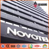 Foshanpvdf que reveste a venda de anúncio composta de alumínio da placa de 5mm dos fornecedores de China