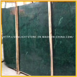 Polished строительный материал Индия Verde Гватемала/мрамор снежка зеленый для слябов или плиток на сбывании