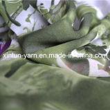 Tela Chiffon Maxi do cetim da cópia bonita para o vestido/Headband