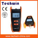 Оборудование аппаратуры Tw3109e испытания сети стекловолокна Techwin светлое