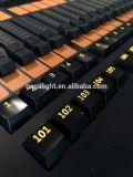Consola Grandma2 de la iluminación de la etapa del mA de la iluminación de la etapa en la PC Ma2 en el ala del comando de la PC