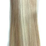 Grampo da cor do piano 18+613 da fonte da fábrica de Guangzhou China na extensão do cabelo, emaranhado 120g livre 8piece/Bundle