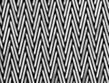 De regelmatige Samenstelling van de Randen van het Type van Klinknagel bracht de Stof van het Weefsel in evenwicht