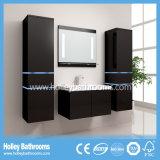 Unità High-Gloss di vanità della stanza da bagno della vernice del LED dell'interruttore caldo di tocco chiaro (B804D)