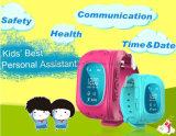 Вахта Q50 отслежывателя GPS малышей франтовской с функцией GSM Sos вызывая для вахты малышей детей