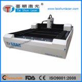 Machine de découpage de laser de fibre pour la feuille galvanisée, tôle d'acier