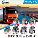 ECE 점 범위를 가진 광선 덤프 트럭 타이어 13r22.5