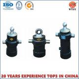 Hydrozylinder für Schlussteil und hydraulische Hebevorrichtung