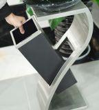 De Vuilnisbak van het roestvrij staal met het Asbakje van het Glas (yh-34)