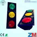 8 pulgadas de bola completa LED parpadeante Semáforo / señal de tráfico con la lente convexa