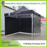Выдвиженческий складывая шатер рынка напольный рекламировать рамки