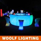 RGB LEDの家具のホテルのためのレンタル丸棒のカウンター