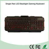 Клавиатура красного цвета СИД Gamer множественного языка имеющяяся одиночная (KB-1901EL-R)