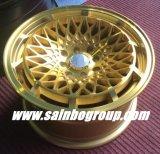 Золото Aftermarket F70519 катит оправы колеса сплава автомобиля