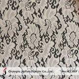 백색 Guipure 그물 레이스 직물 (M1389)