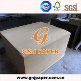 Papier d'emballage de pâte de bois de Vierge avec le prix bas