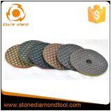 Steingranit/Marmor/konkrete trockene flexible Polierauflagen
