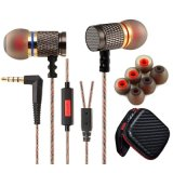 Form TPE Round Cable Metal Stereo Earphone für Handy