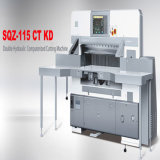 1150mm Cutting Size (SQZ-115CT KD)를 가진 산업 Paper Cutter