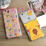 Pokemon는 Anti-Shock TPU 전화 상자 Pikachu iPhone 5/6/6plus를 위한 간다