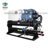 Refrigerador de agua industrial vendedor superior del tornillo refrigerado por agua del glicol