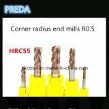Les cannelures solides de Cabride HRC55 4 effectuent un virage des machines-outils de radius