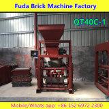 Petit Semi Automatique Béton Paving Brique Making Machine Prix