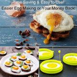 Küche, die Hilfsmittel-hitzebeständiges Nahrungsmittelgrad-Silikon gebratene Ei-Form kocht