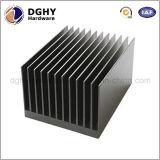 Dissipatore di calore di illuminazione personalizzato espulsione di alluminio all'ingrosso della Cina LED