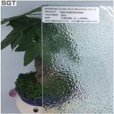 glace modelée ultra claire en verre de flotteur d'espace libre de 4mm 6mm pour le bureau