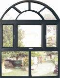 Casement Alumium типа Италии и верхнее повиснутое и нижнее повиснутое окно