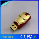 100% 실제적인 전용량 금속 철 남자 USB 섬광 드라이브 16GB 32GB