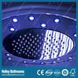 Cabine de vidro do chuveiro da porta desobstruída Tempered excelente com assento (SR117N)