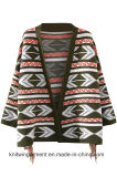 Wolljacke-Strickjacke der Soem Dame-Fashion Hot Sales Long (W17-731)