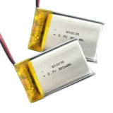 602030 3.7V 300mAh Li-Polymer-Plastik nachladbare Batterie für Audiospieler