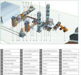 Полая производственная линия машины блока (QFT10-15)