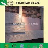 Tarjeta del cemento de la fibra--Tarjeta de apartadero de madera de la textura