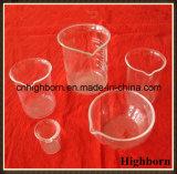 واضحة [بوروسليكت] شكل منخفضة كأس زجاجيّة مع صنبور