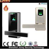 Zinc Alloy Metal Biometric Fingerprint Scanner Door Lock
