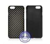 Contraportada material de la PC recubierta de goma de la fibra del carbón de la alta calidad para el iPhone 6 6s